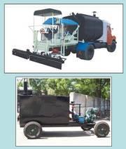 Bitumen sprayer,  Asphalt distributor,  pressure,  truck
