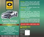 CAR SHAMPOO, RUBBING COMPOUNDS, CAR POLISH, CAR CARE PRODUCTS