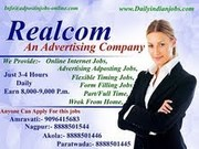 Ad-Posting jobs,  Work from home,  Earn & learn course,  Part/full time j