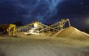 Sand Aggregation Plant.