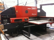 FOR SALE AMADA PEGA 357 AUTO-INDEX 1270 X 1830 CNC TURRET PUNCH PRESS