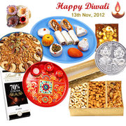 Indian Diwali Sweets with Gujarat Gifts