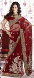 Get Exclusive Range of Bridal Sarees Online
