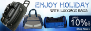 Make a Choice for Right Luggage Bag at Shopping Market of India