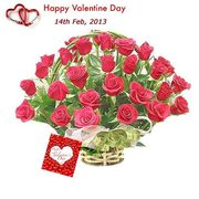 Valentine Roses,  Valentine Gifts,  Send Valentine Roses to India