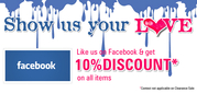 SareesBazaar.com - Like us on Facebook & Get 10% discount