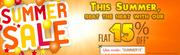 SimpleSarees.com - SUMMER SALE @ FLAT 15% OFF