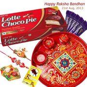 Gujaratgifts Offer Rakhi Gifts with Rakhi to India