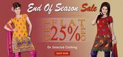 ValueAddedFashion.com - End of Season Salwar Suit Sale