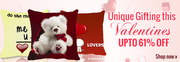 Buy Valentine Cushion Covers Gifts at Lowest Price in India