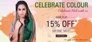 SkySarees.com - Holi Special Discount Sale
