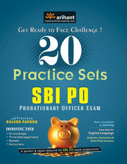 Buy Now SBI PO Examination 20 Practice Sets By Arihant Experts