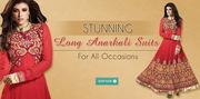 Ramafashions.com - Designer Anarkali Salwar Suit @ Best Prices