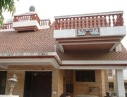 Ideal as a guest house for company a bungalow for rent .