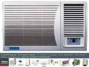 (61) Bluestar 1WAE241YA 2Ton (1 Star) Window Air Conditioner (White) -