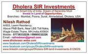 Dholera SIR - Narendra Modi's 1st Smart city- investment opportunity