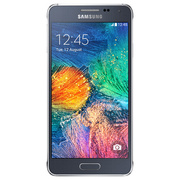 samsung Galaxy Alpha Black (Silver-66913)
