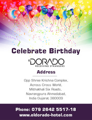 Best place for celebration of birthday parties - El Dorado Hotel