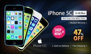 47% OFF Deal for iPhone 5c 16 GB Yellow at Moskart