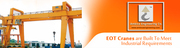 Ambica Engineering Co. Offers Top Quality EOT Cranes For Industrial Pu