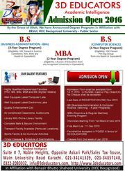 3D Educators Academic Intelligence 1