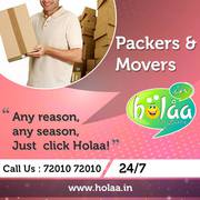 Overcome Packers & Movers  issues,  hiring Holaa
