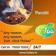 Overcome Pandit related issues,  hiring Pandit from Holaa!