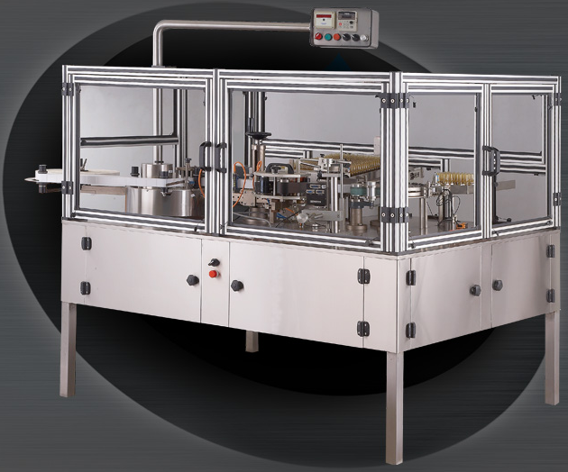 Automatic High Speed Vertical Rotary Ampoule/Vial Sticker Labelling