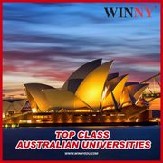 Top Class Australian Universities