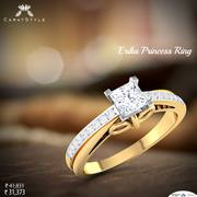 Large Variety of Diamond and Gold Rings for Girls