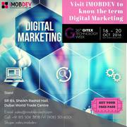 Visit iMOBDEV to know the term Digital Marketing at GITEX 2016 Dubai