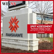 Why to Study in Fanshawe College?