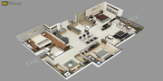 Commercially developed 3D Floor Plans