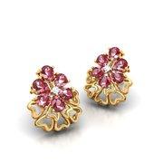 Buy Crimson Diamond Earrings for Girls