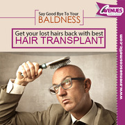 Not Looking Attractive Due To Baldness?Get Treatment by Dr.Kinnar Kapa
