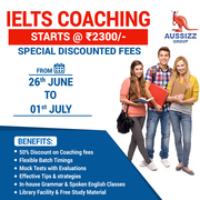 Special Discount for IELTS Coaching in Ahemdabad