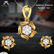 Different Types of Diamond Pendant sets - Papilior