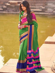 Buy Online Pure Cotton Sarees
