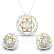 Diamond Pendant Sets Price,  Buy Diamond Pendant Sets Online for Women