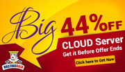 Save flat 44% On Cloud Hosting Plans
