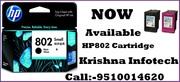 HP 802 Cartridge Dealer In Maninagar , Ahmedabad