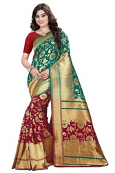 Huge Discount of 65%off on Banarasi Silk Saree | Kalavat
