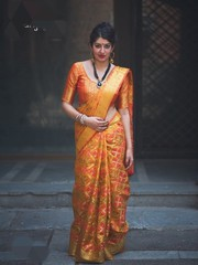Patola Wedding Wear Mustard Color Saree & Heavy Pallu Saree | Kalavat