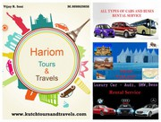 Tours packages and vehicle rental service at affordable prices at bhuj