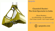 Clamshell Bucket - Aprgrabs -The Grab Specialist in India