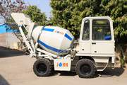 John 2CM Self Loading Concrete Mixers - Johninfra