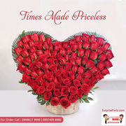 Midnight Flowers Delivery,  Flower Bouquet Delivery in Ahmedabad
