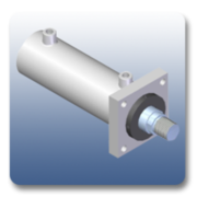 Marshal Hydromovers are manufacturers of Front Flange Cylinders