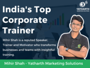 Mihir Shah - Top Corporate Trainer in India