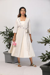 tie knot dress for womens
